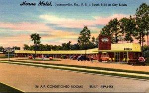 Florida Jacksonville The Horne Motel