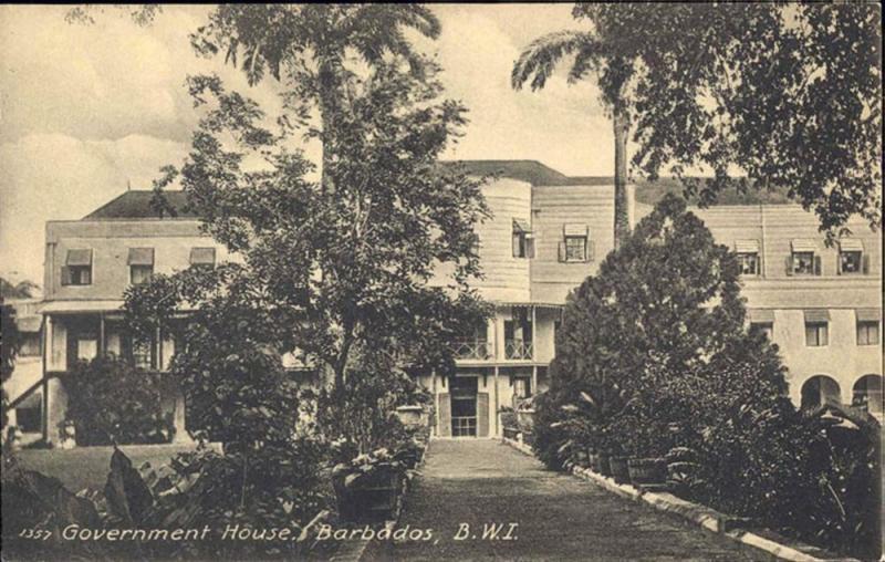 barbados, B.W.I., BRIDGETOWN, Government House (1910s)