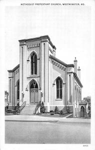 Westminster Maryland Methodist Protestant Church Antique Postcard K17130