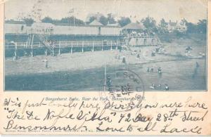 Bensonhurst New York Baths Waterfront Antique Postcard K95295