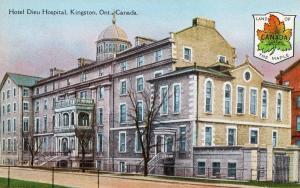 Canada - Ontario, Kingston. Hotel Dieu Hospital