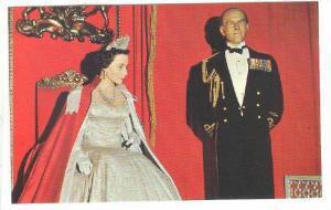Wax Museum, H.M. Queen Elizabeth II & Her Husband Philip, H.R.H. Prince, Queb...