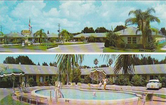 Florida Saint Augustine Linda Vista Court With Pool