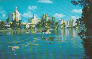 Hotel Row And Indian Creek Miami Beach Florida