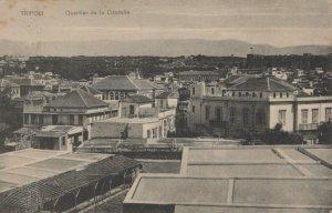 Libya Postcard - Tripoli - Quartier De La Citadelle     RS21258