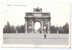 Paris L'Arc des Tuileries ca 1910 France