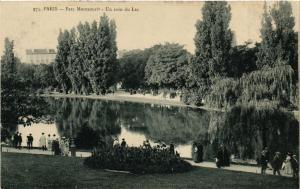 CPA Paris 14e Paris-Parc Montsouris-Un coin du Lac (311177)