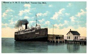 Missouri at N.M.T. Co,'s Dock Traverse City Michagan