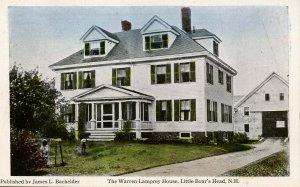 NH - Hampton, Little Boar's Head. Warren Lamprey House