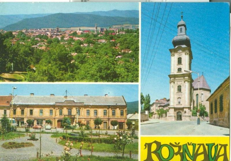 Slovakia, Roznava , Rožňava, unused Postcard