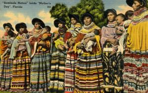 FL - Seminole Indians- Mother's Day in Seminole Nation