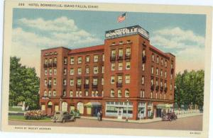 Linen Card of Hotel Bonneville Idaho Falls ID