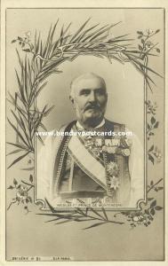 King Nikola I Petrović-Njegoš of Montenegro in Uniform, Medals (1900)