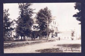 MA Highland House Hotel GOSHEN MASS RPPC Real Photo Massachusetts Postcard