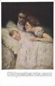 Artist Signed Clarence Underwood Nr. 742 F, M.Munk, Vienne Unused light corne...