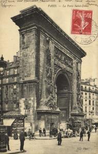 CPA Paris 10e (Dep. 75) La Porte Saint-Denis (79924)
