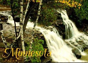 Minnesota Lake Superior North Shore Drive Gooseberry Falls