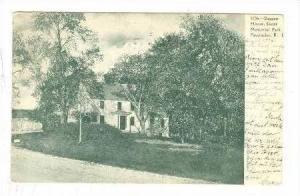 Daggett House, Slater memorial Park, Pawtucket, Rhode Island, PU-1906