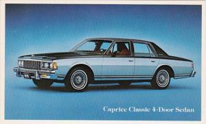 1979 Chevrolet Caprice Classic 4 Door Sedan
