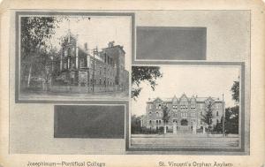 Columbus Dispatch Ohio~Vignettes: Josephinum College~St Vincents Orphanage~1908