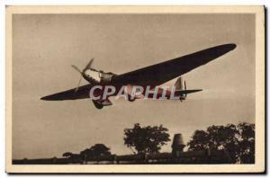 Old Postcard Jet Aviation unit single-engine Bernard big raids