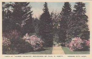 Michigan Rogers City Vista at Huron Heights Residence of Paul H. Hoeft Albertype