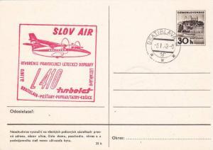 Slov Air, L410 turbolet, Bratslava, Slovakia, PU-1972