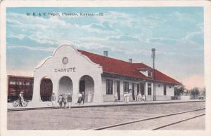 CHANUTE, Kansas, 00-10s; M.K.&T. Depot