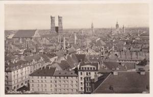 RP, Bird´s Eye View, Total, Munchen (Bavaria), Germany, 1920-1940s