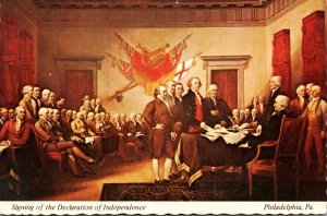Pennsylvania Philadelphia Signing Of The Declaration Of Independence