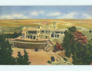 Unused Linen CHEYENNE LODGE MOTEL Colorado Springs Colorado CO u8460