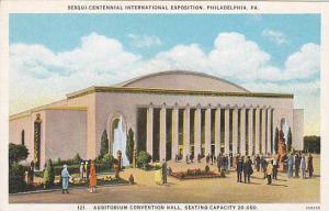 Exterior, Auditorium Convention Hall, Philadelphia, Pennsylvania, 00-10s