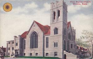 First Baptist Church, Wichita, Kansas 1900-10s