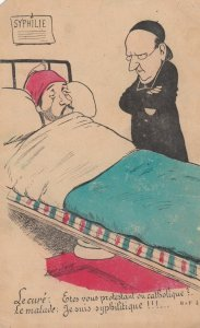 SAGER, Xavier ; Man in Bed SYPHILIE , 00-10s