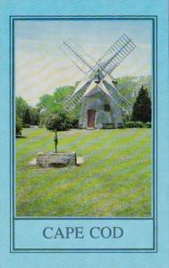 Massachusetts Cape Cod Eastham Oldest Windmill On Cape Cod