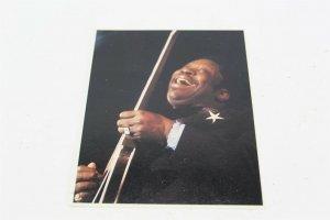 Vintage B.B. King Postcard Sidney A. Seidenberg, Inc 4 3/4 x 5 3/4