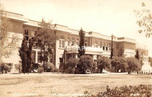 A63/ Douglas Arizona Az Real Photo RPPC Postcard c40s High School Building
