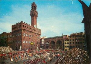 Postcard Italy Firenze Piazza della Signoria