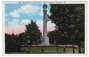 Chicago, Ill, Centennial Monument, Logan Square