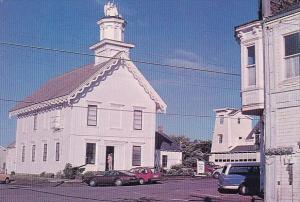 Church Building Mendocino California