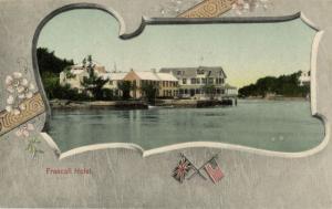 bermuda, B.W.I., Frascati Hotel (1900s) Postcard