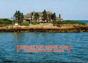 Maine Kennebunkport President George Bush Summer Home