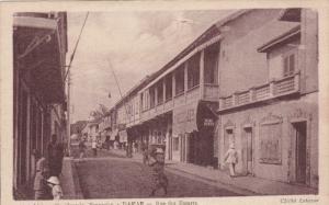 DAKAR, Senegal, 1910-1920s; Afrique Occidentale Francaise, Rue Des Essarts