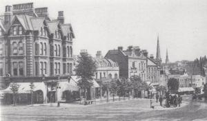 Tranquil Vale Blackheath London in 1905 Postcard