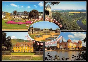 Schoenes Sachsen rund um Dresden, Schloss Pillnitz Bergpalais Wackerbarth Castle