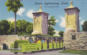 Sightseeing Miniature Train , ST AUGUSTINE , Florida , 30-40s