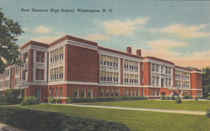 WILMINGTON, North Carolina, 1930-1940s ; New Hanover High School