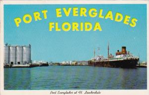Florida Fort Lauderdale Port Everglades 1964