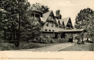CT - Hartford. Mark Twain House