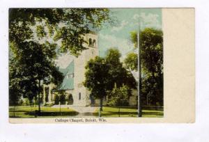 College Chapel, Beloit, Wisconsin, PU-1910